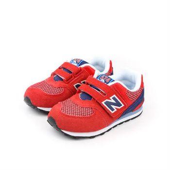 New Balance 574系列 跑鞋 紅 童 no041