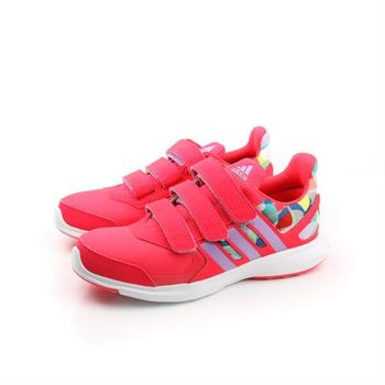 adidas hyperfast 2.0 cf k 跑鞋 三個魔鬼氈 桔 童 no299