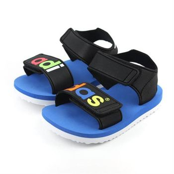 adidas BEACH SANDAL I 涼鞋 黑藍 小童 no271
