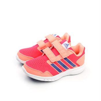 adidas Runfastic CF K 跑鞋 兩個魔鬼氈 桔 童 no286