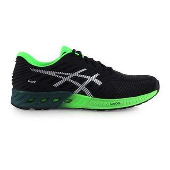 【ASICS】FUZEX 男慢跑鞋- 路跑 亞瑟士 黑綠