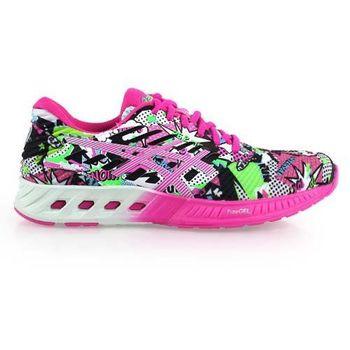 【ASICS】FUZEX女慢跑鞋 - 路跑 健身 亞瑟士 螢光粉綠