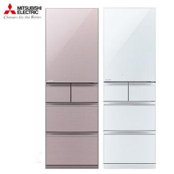 MITSUBISHI 三菱 455公升日本原裝 5門玻璃鏡面變頻冰箱 MR-B46Z