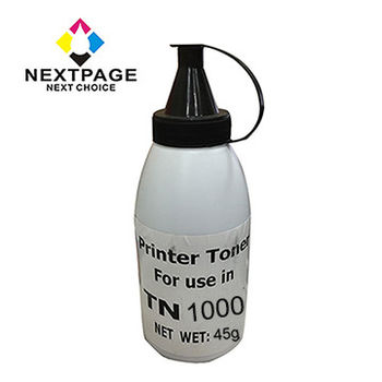 【NEXTPAGE】Brother TN-1000 黑色填充碳粉罐 (For HL1110/MFC1810/DCP1510)【台灣榮工】