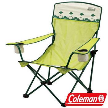 Coleman 萊姆綠陽光型網椅/CM-7643J 折疊椅|休閒|露營|戶外