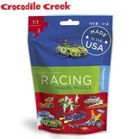 ~美國Crocodile Creek~隨身旅行拼圖 ^#40 賽車好手 ^#41