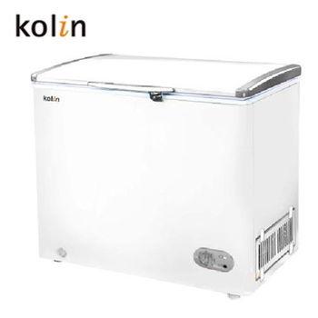 買就送~【歌林 Kolin】 155L臥式冷凍冰櫃KR-EL115F01