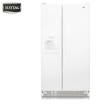 『MAYTAG』☆ 美泰克 710L對開電外置式取水取冰 冰箱 MSF25D2EAW