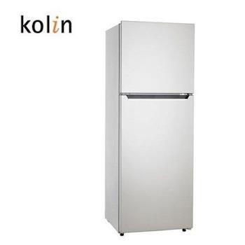 買就送~【Kolin歌林】250L雙門電冰箱KR-225S01(含拆箱定位)