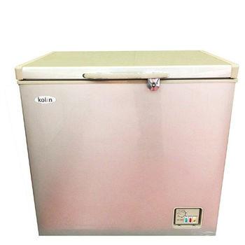 買就送-【歌林 Kolin】208L臥式冷凍櫃KR-120F01