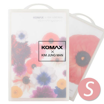 【KOMAX x 金鐘萬】花漾雙面抗菌砧板(S)-80948