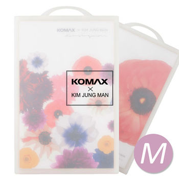 【KOMAX x 金鐘萬】花漾雙面抗菌砧板(M)-80947