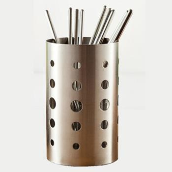 PUSH! 餐具用品 304不銹鋼加厚加高筷子筒筷子籠筷子收納盒(加高款)E54