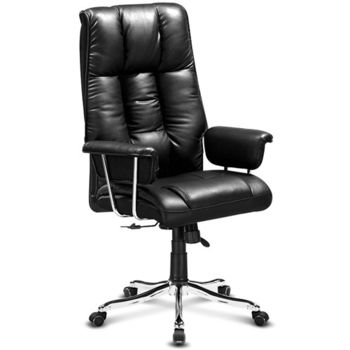 【椅吧】舒適設計皮面電腦椅/辦公椅