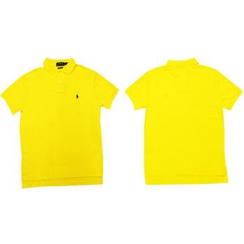 Ralph Lauren 經典戰馬短袖POLO衫 (黃)