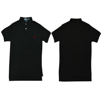 Ralph Lauren 經典戰馬短袖POLO衫 (黑)