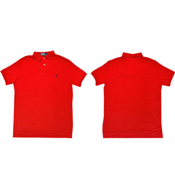 Ralph Lauren 經典戰馬短袖POLO衫  (紅色)