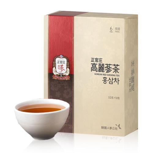 【正官庄】高麗蔘茶 (50包/盒)x1盒
