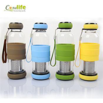 [Conalife] 南瓜玻璃泡茶杯