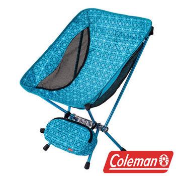 Coleman LEAF隨行椅/水晶藍 超輕鋁合金折疊月亮椅 CM-26738  摺疊椅|休閒椅|折合椅
