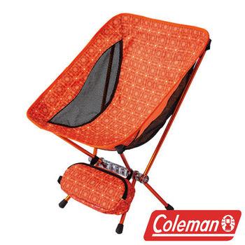 Coleman LEAF隨行椅/杏黃 超輕鋁合金折疊月亮椅 CM-26740  摺疊椅|休閒椅|折合椅