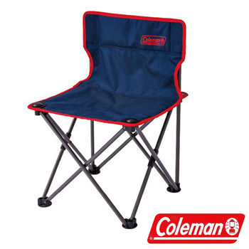 Coleman 吸震摺椅海軍藍/CM-26851 折疊椅|休閒|露營|戶外