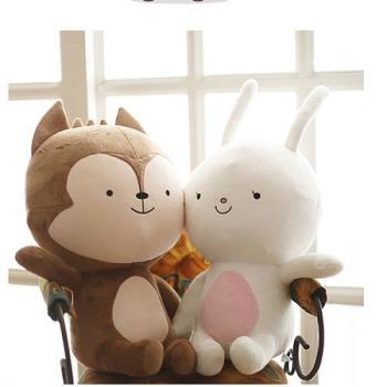 太陽的後裔 狼君兔子抱枕(兩款可選)宋慧喬 宋仲基 韓劇