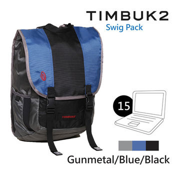 【美國Timbuk2】Swig 後背包-Gunmetal/Blue/Black-S