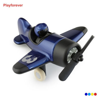 Playforever Classic Mimmo Aeroplane經典米莫螺旋槳飛機玩具擺飾-深藍