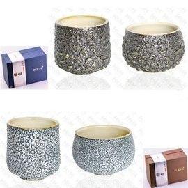 【南良HH】藝術陶瓷 能量瓷 吉祥如意 (茶碗+茶杯)