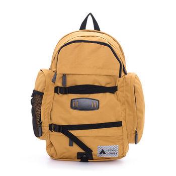 【美國 AIRWALK】包款露營野趣 保冷保溫三層袋輕量後背包-中黃