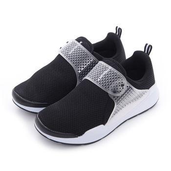 【美國 AIRWALK】異質 洞洞膠片編織氣墊運動鞋-男-共二色