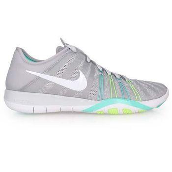 【NIKE】WMNS FREE TR 6 女訓練鞋- 慢跑 路跑 健身 淺灰綠
