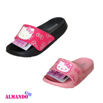 ALMANDO-KIDS●兒童健康抗菌童鞋HELLO KITTY●816850 拖鞋/休閒鞋