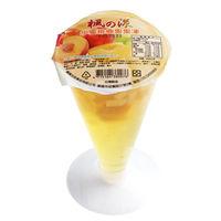 楓漾 高腳杯水蜜桃椰果果凍 ^#40 225gX12杯 ^#47 箱 ^#41