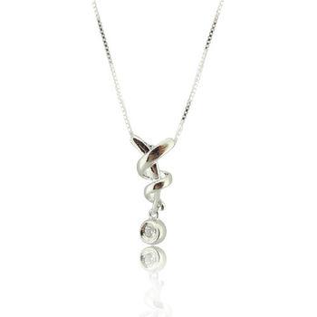 纏綿 S925純銀 鋯石 項鍊