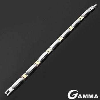 【GAMMA】堅韌不破鎢鋼鍺磁石手鍊(JE-02)