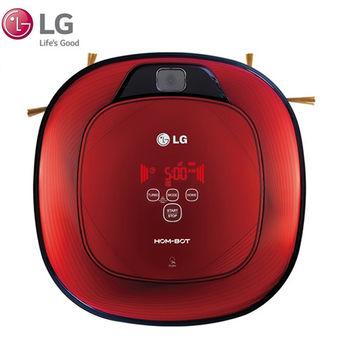 LG樂金 雙眼小精靈掃地機器人VR64702LVM寶石紅