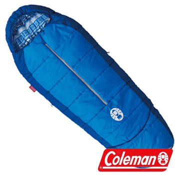 Coleman 4度兒童可調式海軍藍睡袋 CM-27270 人形睡袋|蛋型睡袋|登山|露營