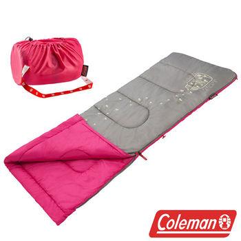 Coleman 夜光型兒童睡袋 桃紅 CM-22263M  登山|露營|戶外