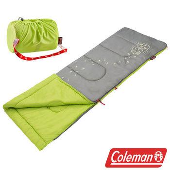 Coleman 夜光型兒童睡袋 萊姆綠 CM-22259M  登山|露營|戶外