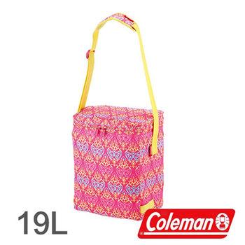 Coleman 19L 紅葉圖騰保冷袋 CM-22221 │行動冰箱│冰筒│冰桶│手提袋│露營│登山