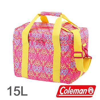 Coleman 15L 紅葉圖騰保冷袋 CM-22230 │行動冰箱│冰筒│冰桶│手提袋│露營│登山