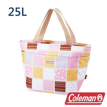 Coleman 保冷手提袋25L 桃紅 CM-27222 露營│登山│行動冰箱│保冰袋│野餐│便當袋