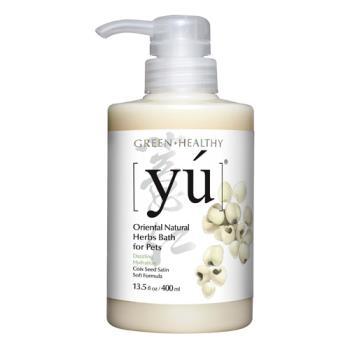 【YU 東方森草寵物沐浴乳】薏仁柔潤配方洗毛精 400ml