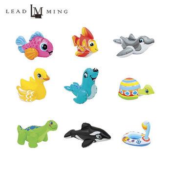 【INTEX】動物造型戲水充氣玩具