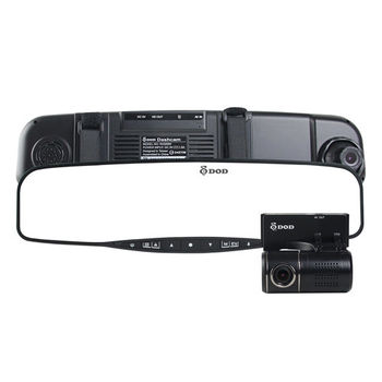 DOD RX500W 雙鏡頭後視鏡型1080P行車記錄器