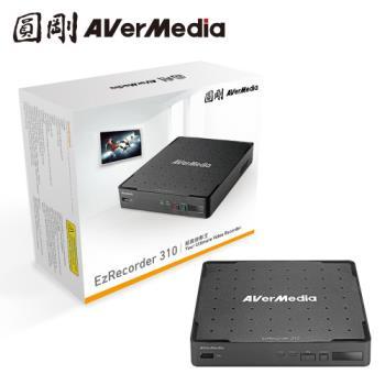 圓剛 ER310 超級錄影王 ( 高畫質MOD、機上盒自動預約錄影 )+贈 05-HD12 HDMI一對二分配器