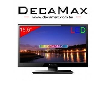 【DECAMAX】15.6吋 超薄LED顯示器+類比視訊盒(DM-156AT)