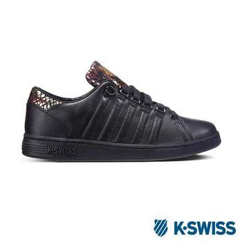 K-Swiss Lozan III TT Reptile Glam運動鞋-黑/金